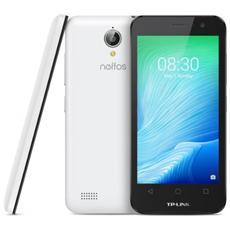 """Neffos Y5L Bianco 8 GB Dual Sim Display 4.5"""" Slot Micro SD Fotocamera 5 Mpx Android Italia"""