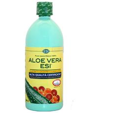 Aloe Vera Succo 1000ml Arancia Rossa