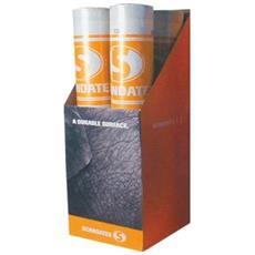 S6345 Scandatex 1 Mq - Rivestimento Murale Tessuto In Fibra Di Vetro A Quadrati Grossolani 1 Mq