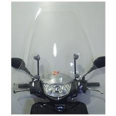 Parabrezza Completo Di Attacchi Specifici Honda Sh 125 150 Trasparente