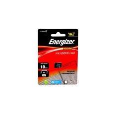 Memory Card Micro Sd 16gb (senza Adattatore Sd) Classe 10 Con 10mb / s In Scrittura E 20mb / s In Lettura Energizer