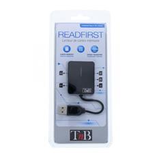 READFIRST, CF, Memory Stick (MS) , MicroSD (TransFlash) , MiniSD, MMC, MS Micro (M2) , SD, SmartMedia, USB 2.0, Nero