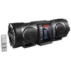 RV-NB100E, Nero, iPhone, iPod, CA / Batteria, CD, CD-R, CD-RW, MP3, WMA, DAB+, FM