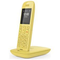 Deutsche Telekom Speedphone 11, TFT, Giallo, 220 x 176 Pixel, 65536 colori, AAA, Nichel-Metallo Idruro (NiMH)