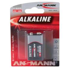 1515-0000 Batteria Alcaina da 9V (Transistor) 6LR61