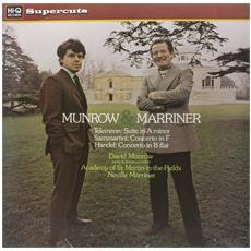 Telemann / Sammartini / Handel - Munrow / Marriner / Academy St Martins