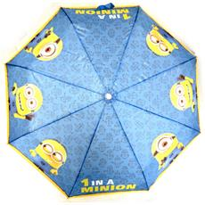 ombrello mini manuale '' giallo blu - [ n1252]
