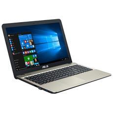 "Notebook VivoBook Max X541UA Monitor 15.6"" HD Intel Core i3-6006U Ram 4GB Hard Disk 500GB 1xUSB 3.1 Windows 10 Home"