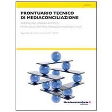 Prontuario tecnico di mediaconciliazione