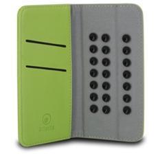 "Custodia in Pelle per Smartphone 4.5"" / 5"" - Colore Verde"