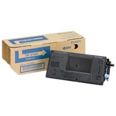 Toner Nero TK-3160 per Ecosys P3045dn / Ecosys P3050dn / Ecosys P3055dn / Ecosys P3060dn