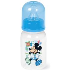 Biberon Polipropilene / silicone Mickey Collo Stretto Ml120 Mondo Baby