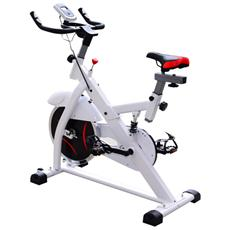 Cyclette Spinning Magnetica Professionale Con Schermo Lcd 105×49×119cm