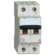 Biticino Fc810nc10 Interruttore Magnetotermico C10 1p+n 2m 4500a