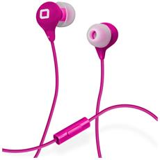 Auricolare in-ear Studio MIX35 colorato con Microfono, tasto risposta e fine chiamata - Rosa