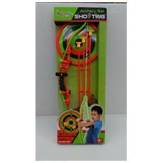 Set Arciere - Arco Con Laser + 3 Frecce Con Ventosa + Bersaglio