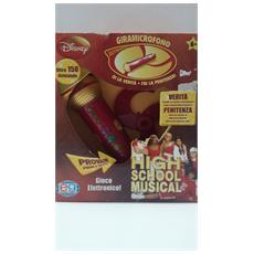 Giramicrofono High School Musical Editrce Giochi Nuovo