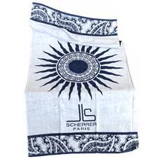Asciugamano Telo Mare 100% Cotone Js Scherrer Paris Sun Greece 90x170cm 8054615452237