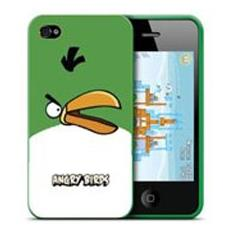 Custodia per Cellulare iPhone 4/4S con Angry Birds Verde ICAB407