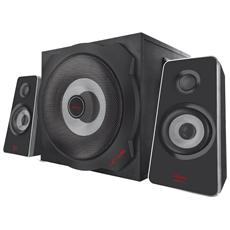 Set Altoparlanti Gaming Speaker GXT 638 2.1 Subwoofer 60 Watt RMS Totali