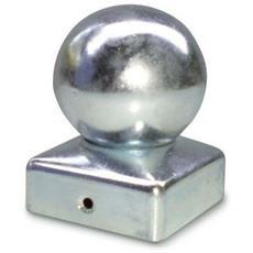 Copricolonna Copripilastro A Palla Da 100 Coperchio Tappo Profil Quadro In Ferro