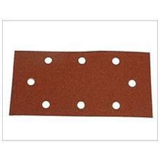 5 Carta Abrasiva Rettangolare 90x185 Grana 40 80 120 180 240 Vetro Vetrata - 80