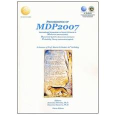 Procedings of MDP2007. International symposium on recent advances in mechanics dynamical systems probability theory