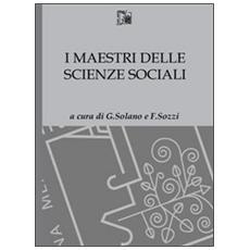 Maestri delle scienze sociali