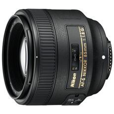 AF-S NIKKOR 85mm f / 1.8G, SLR, 9/9, Telephoto, FX / DX SLRs, Nero, 8 cm