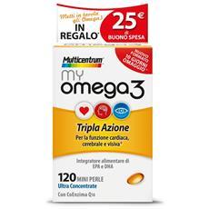 Multicentrum Myomega3 120 Perle Pfizer Italia Div.consum.healt