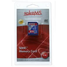 microSD High Capacity (microSDHC) takeMS MS8192TFL-HC6R 8 GB - 1 Scheda