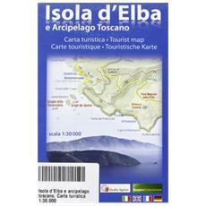 Isola d'Elba e arcipelago toscano. Carta turistica 1:30.000