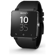 """Smartwatch SW2 Display da 1.6"""" cinturino in Silicone Nero e Connessione Bluetooth per Android - Europa"""
