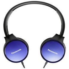 Cuffie con Microfono Cablato Colore Blu e Nero
