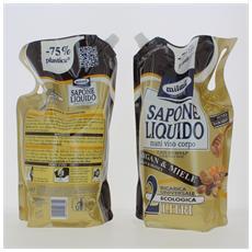 Sapone Liquido Busta 2 Argan&miele