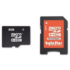 microSDHC 8GB, MicroSDHC, Nero, Class 4, SD