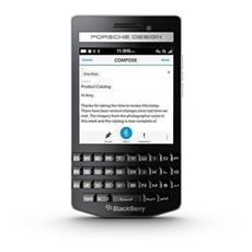 """P9983 Americas Nero 64 GB 4G / LTE Display 3.1"""" HD Slot Micro SD Fotocamera 8 Mpx BlackBerry Italia"""