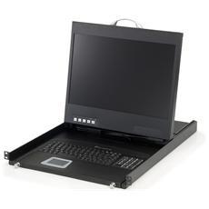 """KVM-8901DE, TFT LCD, 48,26 cm (19"""") , 1440 x 900 Pixels, CE, FCC, RoHS, REACH, 24 kg, 48,2 cm"""