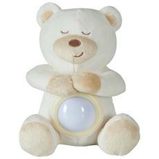 105652314, Orso giocattolo, Bianco, Poliestere, AA