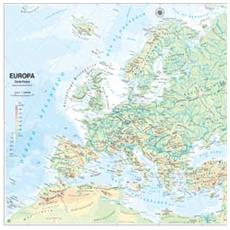 pz. 1 Carta Geografica MuraleEUROPA MS03PL