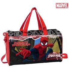 Borsa Da Viaggio Borsone Da Palestra Mare Con Tracolla Pvc Marvel Spiderman