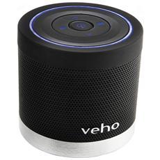 Speaker Audio Portatile 360° M4 Bluetooth Slot MicroSD colore Nero