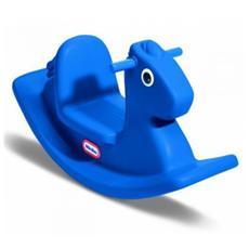 Cavallo a Dondolo Blu