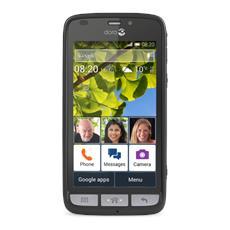 """Liberto 820 Mini Grigio / Argento 4 GB Display 4"""" Slot Micro SD Fotocamera 5 Mpx Android Europa"""