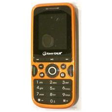 "Solaire Orange Dual Sim Display 1.8"" Radio Bluetooth - Italia"