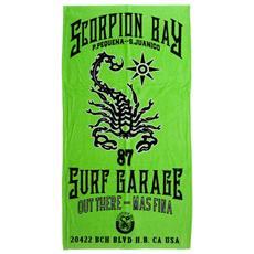 Telo Scorpione Verde Unica