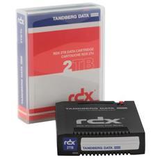 HDD-based RDX Media 3000GB Grigio disco rigido esterno