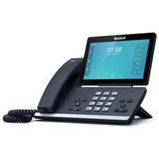 SIP-T58A Cornetta cablata LCD Wi-Fi Nero telefono IP