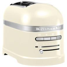KMT2204AC Tostapane A 2 Scomparti Potenza 1250 Watt Colore Crema