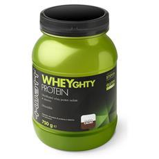 Wheyghty protein 80 750 g cioccolato